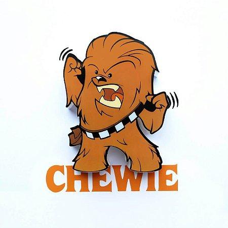 Mini Luminária Chewbacca - Star Wars