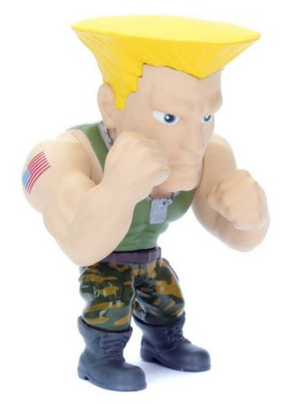 "Metals Die Cast - Guile - Street Fighter 4"" - Capcom - Jada Toys"