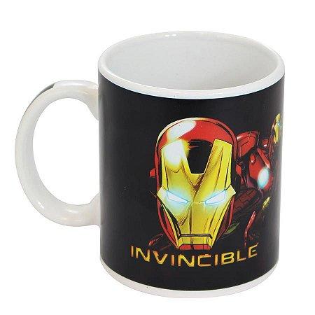 Caneca Mágica - Homem de Ferro - Marvel - 300 ml