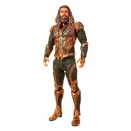Boneco Gigante 50 cm - Aquaman - Liga da Justiça - Mimo
