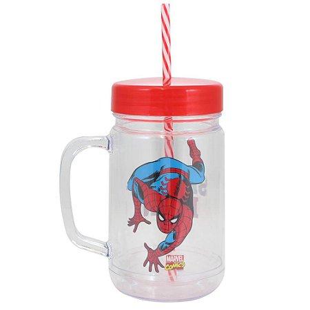 Copo Jarra - 500mL- Homem Aranha - Marvel