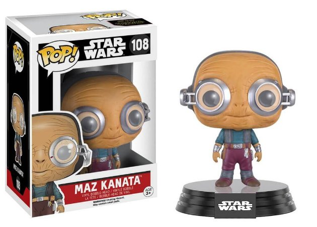 Funko Pop Movies Maz Kanata - Star Wars #108