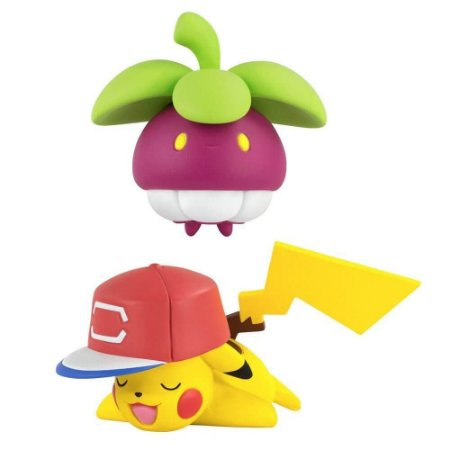 Boneco Pokemon - Pikachu vs Bounsweet - Tomy