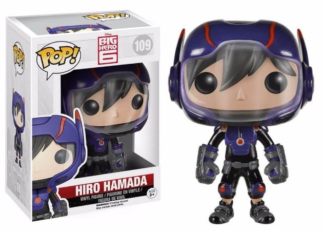 Funko Pop Hiro Hamada - Big Hero 6 - Disney #109