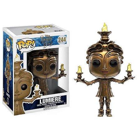 Funko Pop Lumiere (Candelabro)- A Bela e a Fera - Disney #244