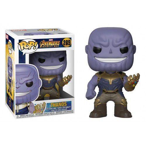 Funko Pop Thanos - Vingadores Guerra Infinita - Marvel #289