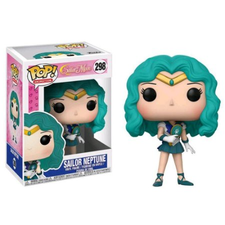 Funko Pop Anime Netuno (Neptune) - Sailor Moon #298