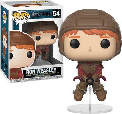Funko Pop Rony Weasley na Vassoura - Harry Potter #54