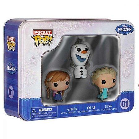 Funko Pocket Pop - Frozen - Anna - Olaf - Elsa - Disney #01