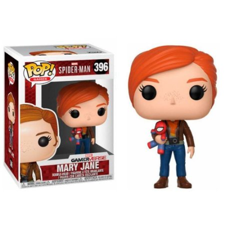 Funko Pop Games - Spider Man - Mary Jane - Gamerverse #396