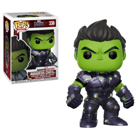 Funko Pop Games - Amadeus Cho como Hulk - Future Fight - Marvel #336