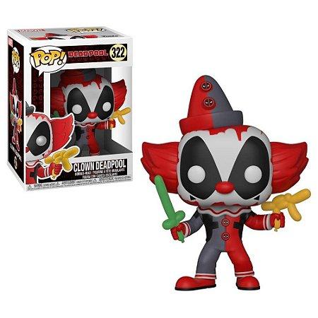 Funko Pop Deadpool Parody - Clown Deadpool - Marvel #322