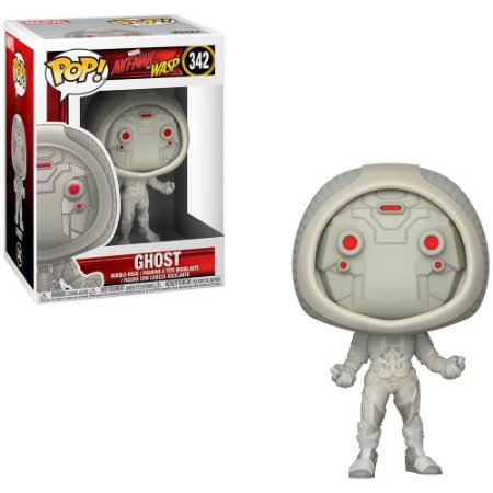 Funko Pop Fantasma - Ghost - Homem-Formiga - Ant-Man - Marvel #342