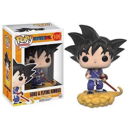 Funko Pop Anime Goku na Nuvem Voadora - Dragon Ball #109