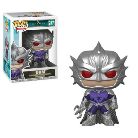 Funko Pop Heroes - Orm - Aquaman - DC Comics #247