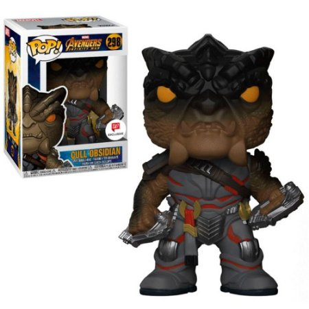Funko Pop Marvel Cull Obsidian - Vingadores - Guerra Infinita #298 Exclusivo