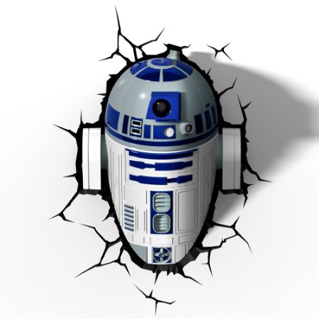 Luminária R2-D2 - Star Wars - 3D Light FX
