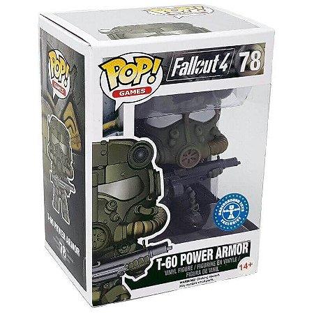 Funko Pop Games Fallout 4 T60 Power Armor 78 Exclusivo