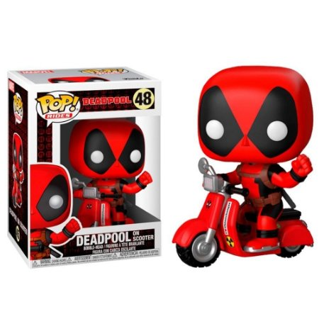 Funko Pop! Rides Deadpool On Scooter Marvel #48