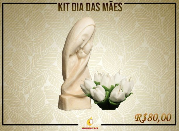 Kit de Dia das Mães: Madona + Tulipa