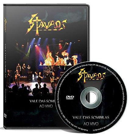 DVD Stauros - Vale das Sombras - Ao Vivo