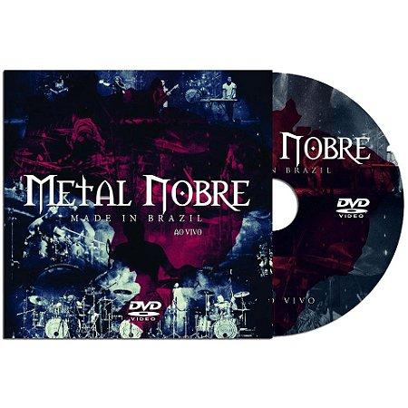 DVD Metal Nobre - Made In Brazil (versão slim)