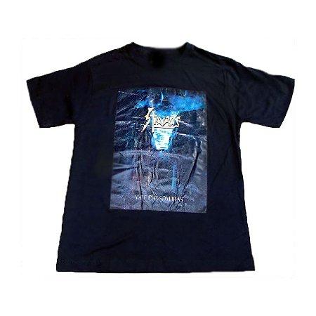 Camiseta Stauros - Estampa Colorida Vale das Sombras (detalhes*)