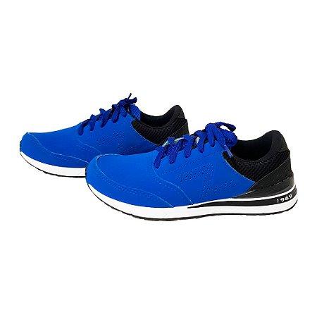 d9d8f9bf870 Tênis Figgo Azul com Preto - Loja de Calçados Feminino