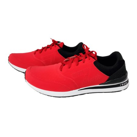 9d074d4877e Tênis Figgo Vermelho com Preto - Loja de Calçados Feminino