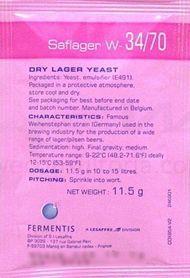 Fermento Fermentis SafLager W 34/70