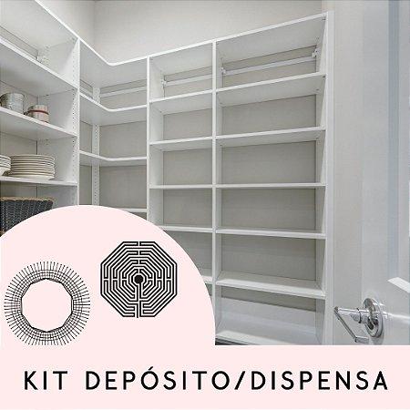 Kit Depósito ou Dispensa.
