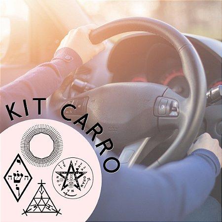 Kit Proteção para o Carro e Passageiros.