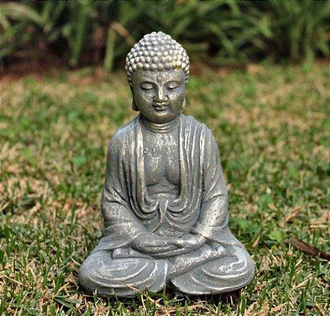 Buda Zen Cinza.