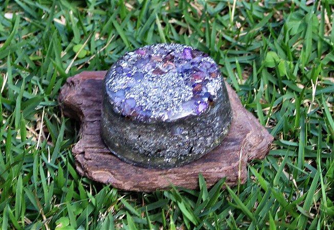 Orgonite mesa Pedra Ametista