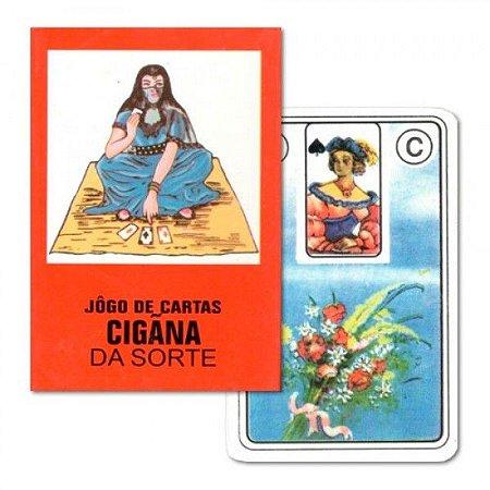 Baralho Cigano Cigana da Sorte - 36 cartas com livreto explicativo.