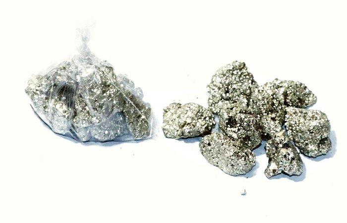 Pirita Bruta saco com 100 gramas