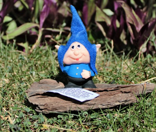 Gnomo Ícaro - Azul