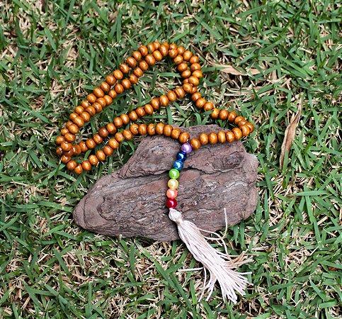 Japamala 108 contas chakras
