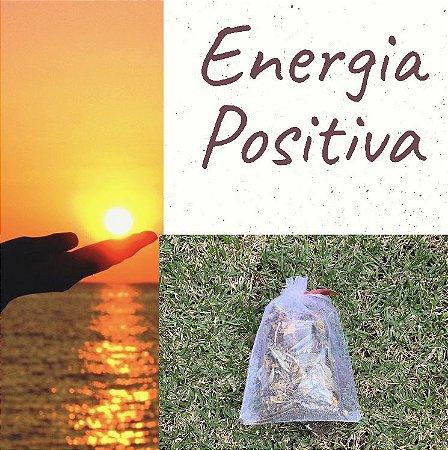 Banho de energia positiva
