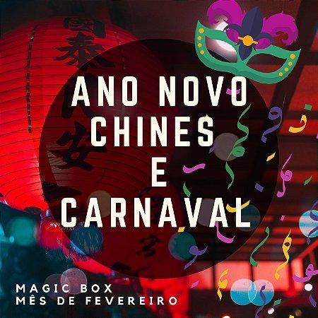 Kit bem Ano Novo Chinês e Proteção Carnaval (fevereiro )