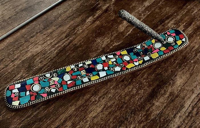 Incensário Mosaico Indiano