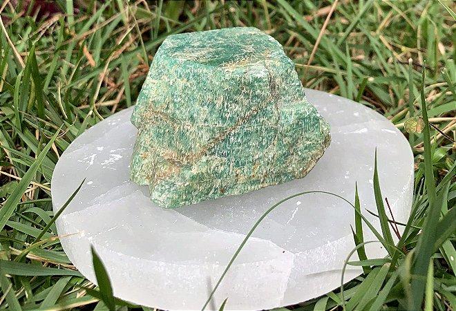 Pedra Bruta de  Amazonita  - Signo de Aquário - Pedra 2021