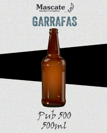 Garrafa Pub 500 - 500ml