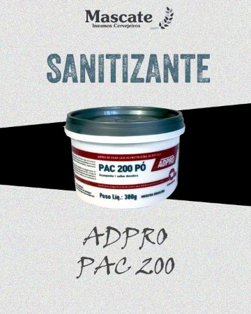 ADPRO PAC 200 - DESINFETANTE E SANITIZANTE