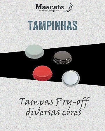 Tampas Pry-off 26mm - 100 und.
