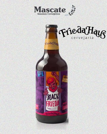 Friedahaus - Black Frieda (500ml)