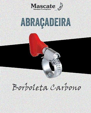 Abraçadeira Borboleta em Aço Carbono
