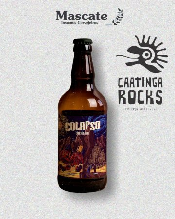 Caatinga Rocks - Colapso Cacau IPA (500ml)