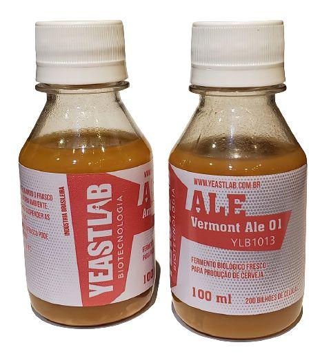 Levedura Yeastlab - Vermont Ale 01 (100ml)