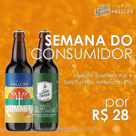 Combo - Seis Punhos IPA + Hellcife Summer Ale